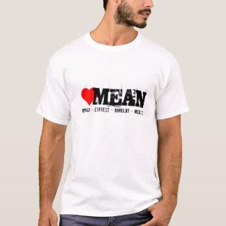 MEAN stack, mongo express, angular and node.js T-Shirt