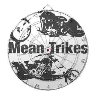 mean trikes dart board