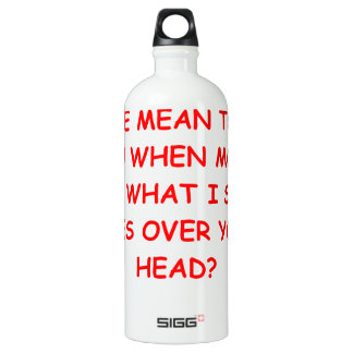 MEAN WATER BOTTLE