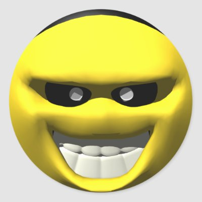 Poker face smiley meaning