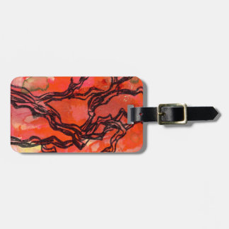 Meandering Branches Tag Tag For Bags