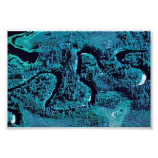 Meandering Chalatna Creek Print