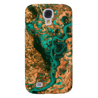 Meandering Mississippi Satellite Image Samsung S4 Case