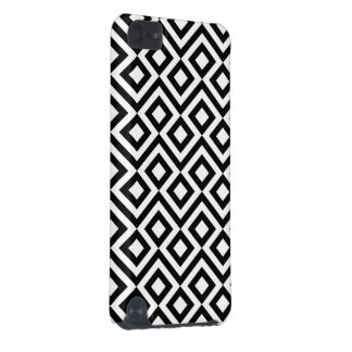Meandro blanco y negro carcasa para iPod touch 5G