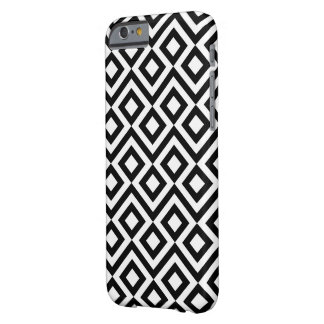 Meandro blanco y negro funda barely there iPhone 6