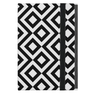 Meandro blanco y negro iPad mini funda