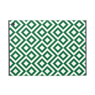 Meandro verde y blanco iPad mini carcasa
