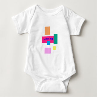 Meaning Baby Bodysuit