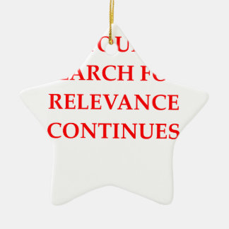 MEANING CERAMIC ORNAMENT