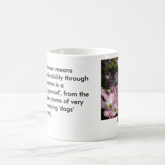 Meaning in Nature: Dogwood Flower Coffee Mug