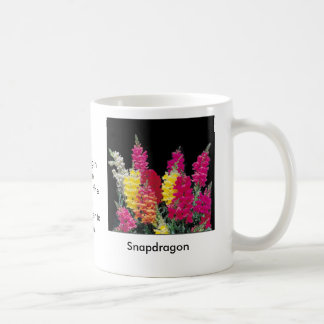 Meaning in Nature: Snapdragon Coffee Mug