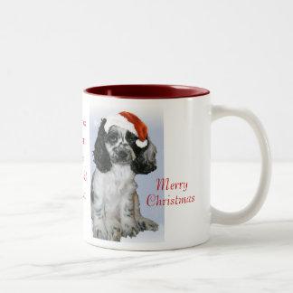 Meaning Of Christmas Two-Tone Coffee Mug