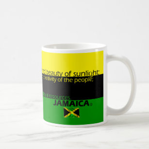 Meaning Of Jamaica S Flag Colors Coffee Mug