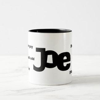 Meaning of Joe Mug