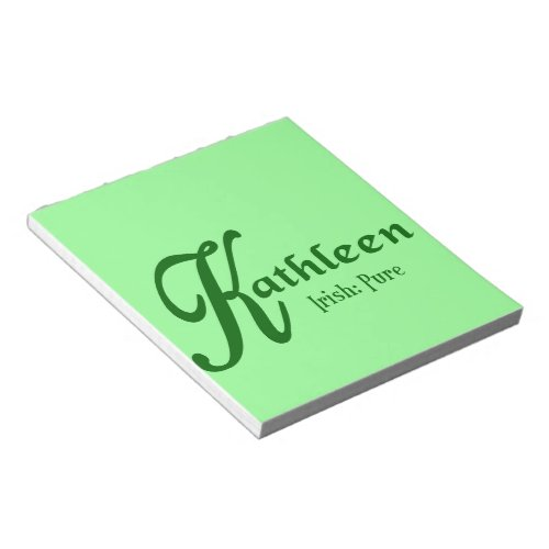 Meaning of Kathleen Notepad