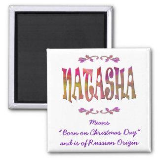 Meaning of Natasha Magnet