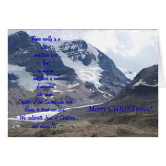 Meaningful Christmas Card! Greeting Card