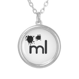 Meaningful living room brand and lifestyle round pendant necklace