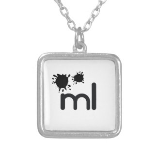 Meaningful living room brand and lifestyle square pendant necklace