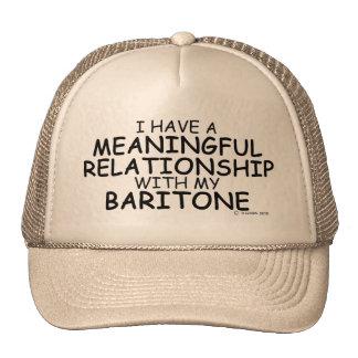 Meaningful Relationship Baritone Trucker Hat