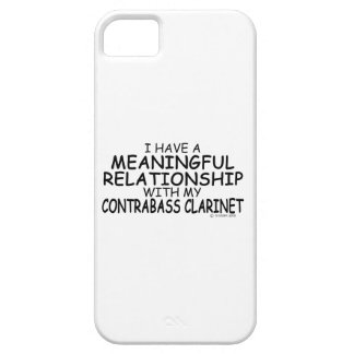 Meaningful Relationship Contrabass Clarinet iPhone SE/5/5s Case