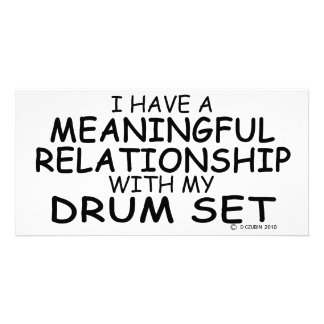 Meaningful Relationship Drum Set Card