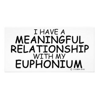 Meaningful Relationship Euphonium Photo Card