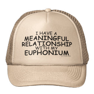 Meaningful Relationship Euphonium Trucker Hat