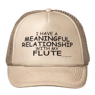 Meaningful Relationship Flute Trucker Hat