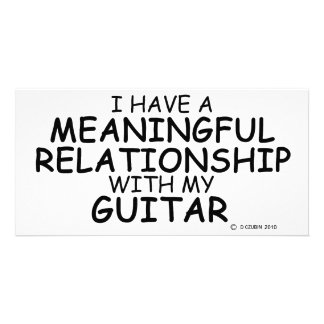 Meaningful Relationship Guitar Card