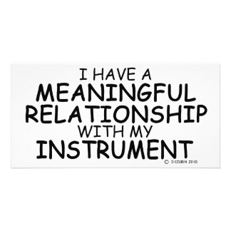Meaningful Relationship Instrument Photo Card