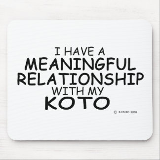 Meaningful Relationship Koto Mousepad