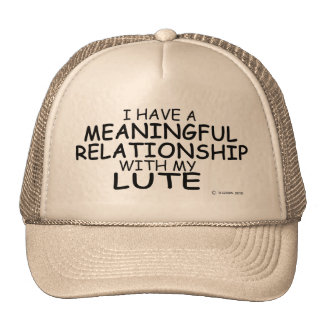 Meaningful Relationship Lute Mesh Hat