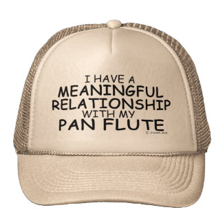 Meaningful Relationship Pan Flute Trucker Hat