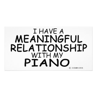 Meaningful Relationship Piano Card