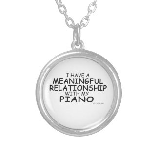 Meaningful Relationship Piano Custom Jewelry