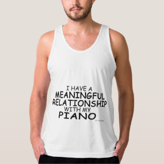Meaningful Relationship Piano Tank Top