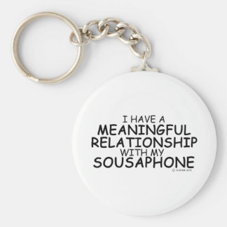 Meaningful Relationship Sousaphone Keychain