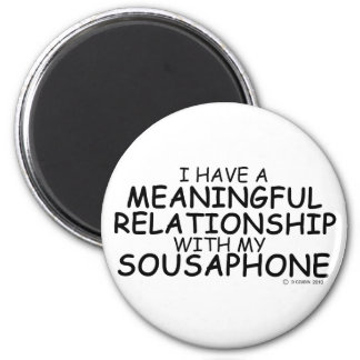 Meaningful Relationship Sousaphone Magnets