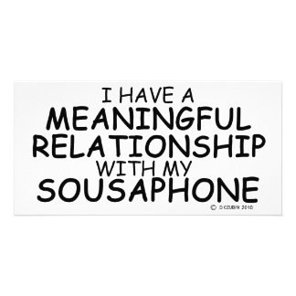 Meaningful Relationship Sousaphone Photo Card