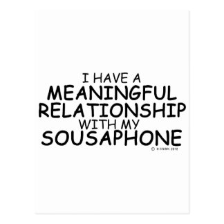 Meaningful Relationship Sousaphone Postcard