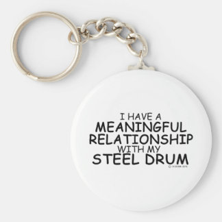 Meaningful Relationship Steel Drum Keychain