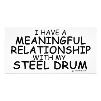Meaningful Relationship Steel Drum Photo Cards