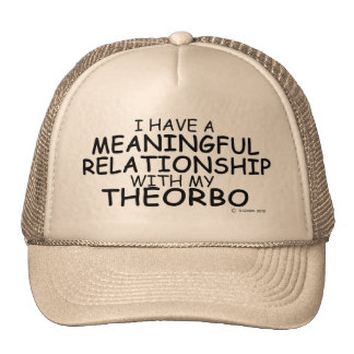 Meaningful Relationship Theorbo Trucker Hat