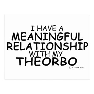 Meaningful Relationship Theorbo Postcard