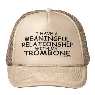 Meaningful Relationship Trombone Trucker Hat