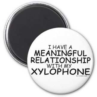 Meaningful Relationship Xylophone Refrigerator Magnets