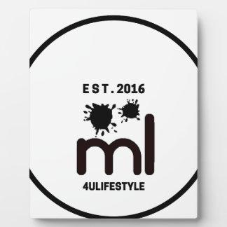 MeaningfulLiving Brand circle logo Plaque