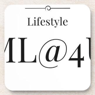 MeaningfulLiving Brand ML@4U Beverage Coaster