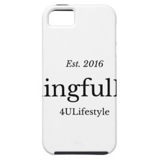 MeaningfulLiving Brand red sentence logo iPhone SE/5/5s Case